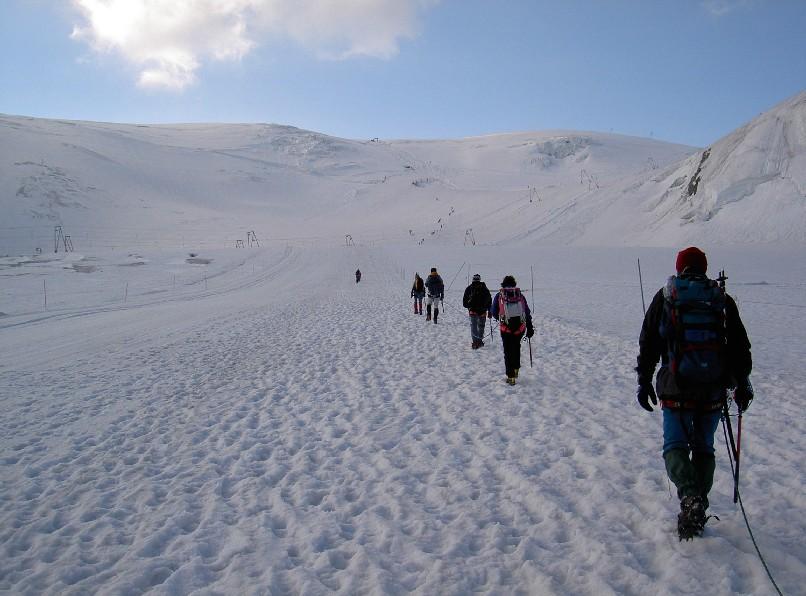 Salita al breithorn occidentale for Planimetrie da 4000 piedi quadrati
