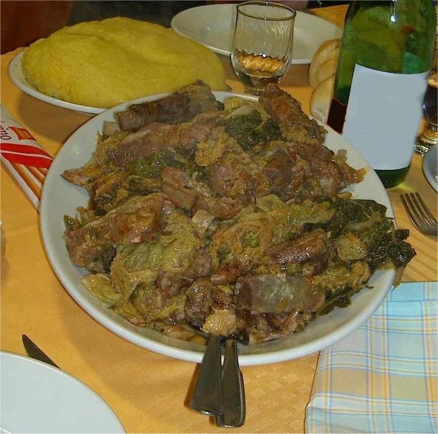 Cassoeula for Cocinar lombarda