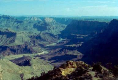 Usa 2 for Grand canyon north rim mappa della cabina